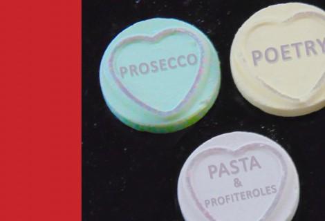 Prosecco, Poetry, Pasta & Profiteroles!