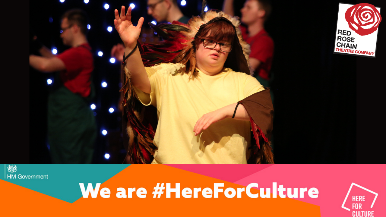We are delighted to announce that we've been awarded £198K from the Cultural Recovery Fund!