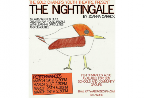 Arts Council England fund The Gold Chainers show The Nightingale